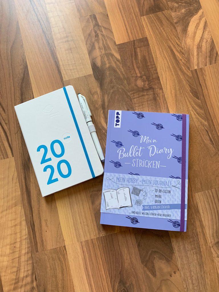 Mein Bullet Diary Stricken und weekview Planer 2020